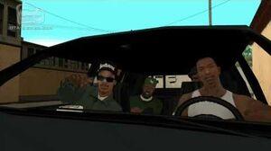 GTA San Andreas - Walkthrough - Mission 5 - Drive-thru (HD)