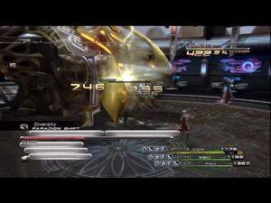 "Final Fantasy XIII - Boss 16 ""Barthandelus"" -HD-"