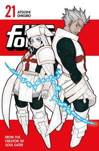 Fire Force Manga Volume 21 Cover