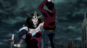 Justice-league-the-flashpoint-paradox-2013-wonder-woman-murders-billy-batson-captain-marvel-review