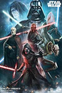 Star Wars Force of Darkness Premium Art Print