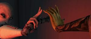 Ventress Unduli hands