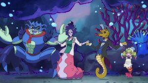 Viva! Spark! Villains dancing