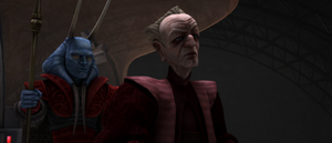 Chancellor Palpatine inquires
