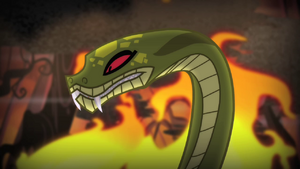 Chimera's snake head three! S4E17