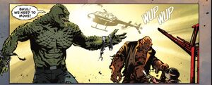Clayface and Killer Croc Prime Earth 01