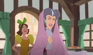 Drizella and Lady Tremaine