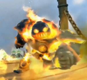 Fire Geargolem in Bony Islands.png