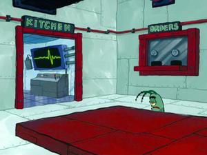 SpongeBob SquarePants Karen the Computer in Chum Bucket