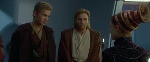 Anakin Skywalker Padmé reunited