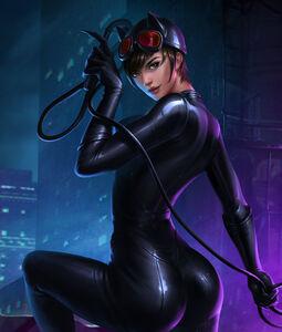 Catwoman Injustice 2 Art