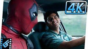 Deadpool Meets Dopinder First Taxi Scene Deadpool (2016) Movie Clip