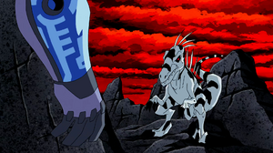 Nega Beast Boy as Utahraptor