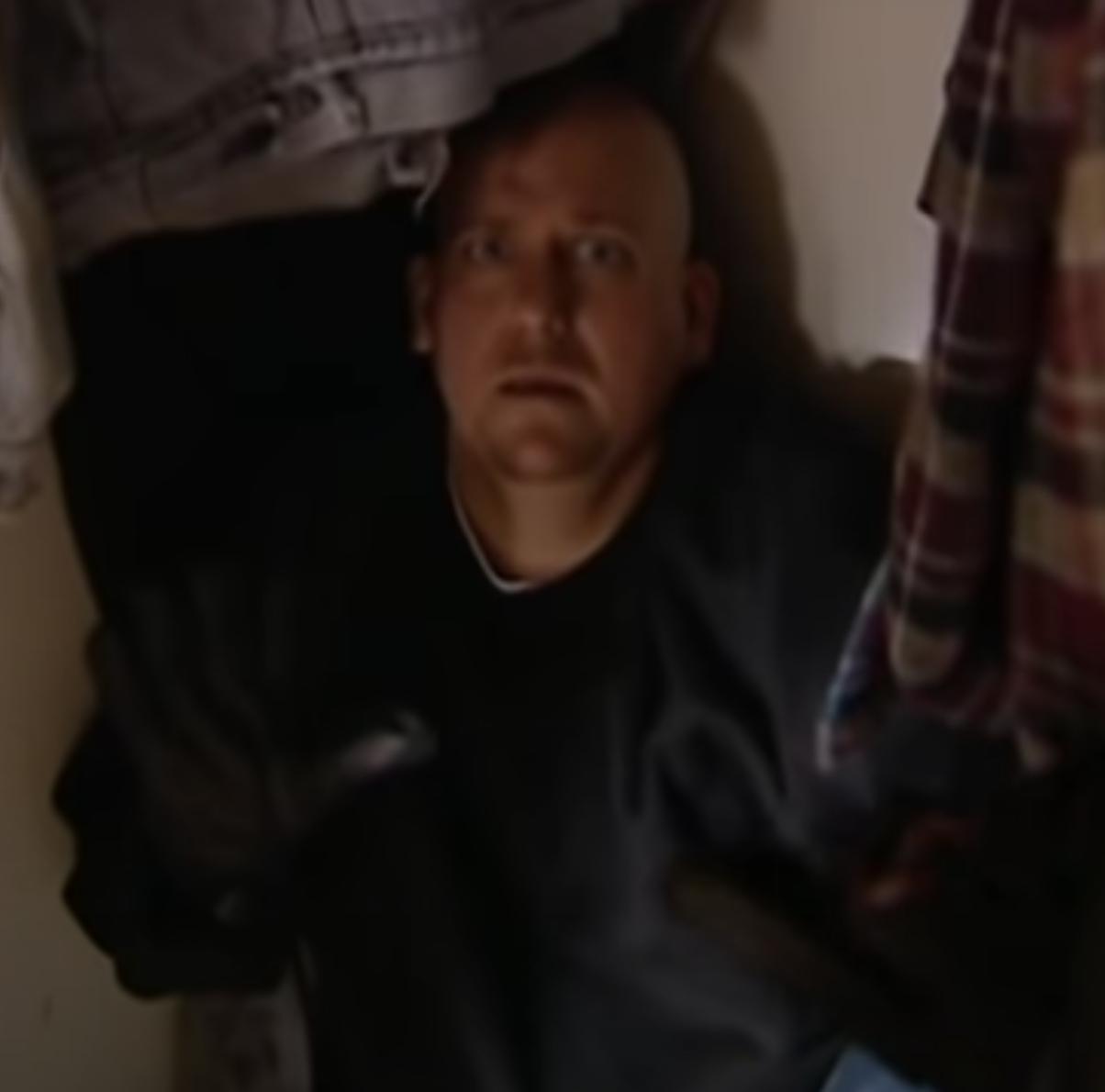 Choking Doberman Burglar