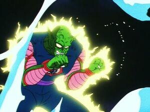 King Piccolo vs Goku! Target Practice -Dragon Ball Episode 121-