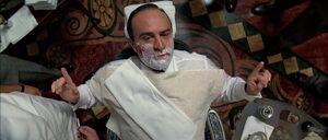 Al Capone shaving