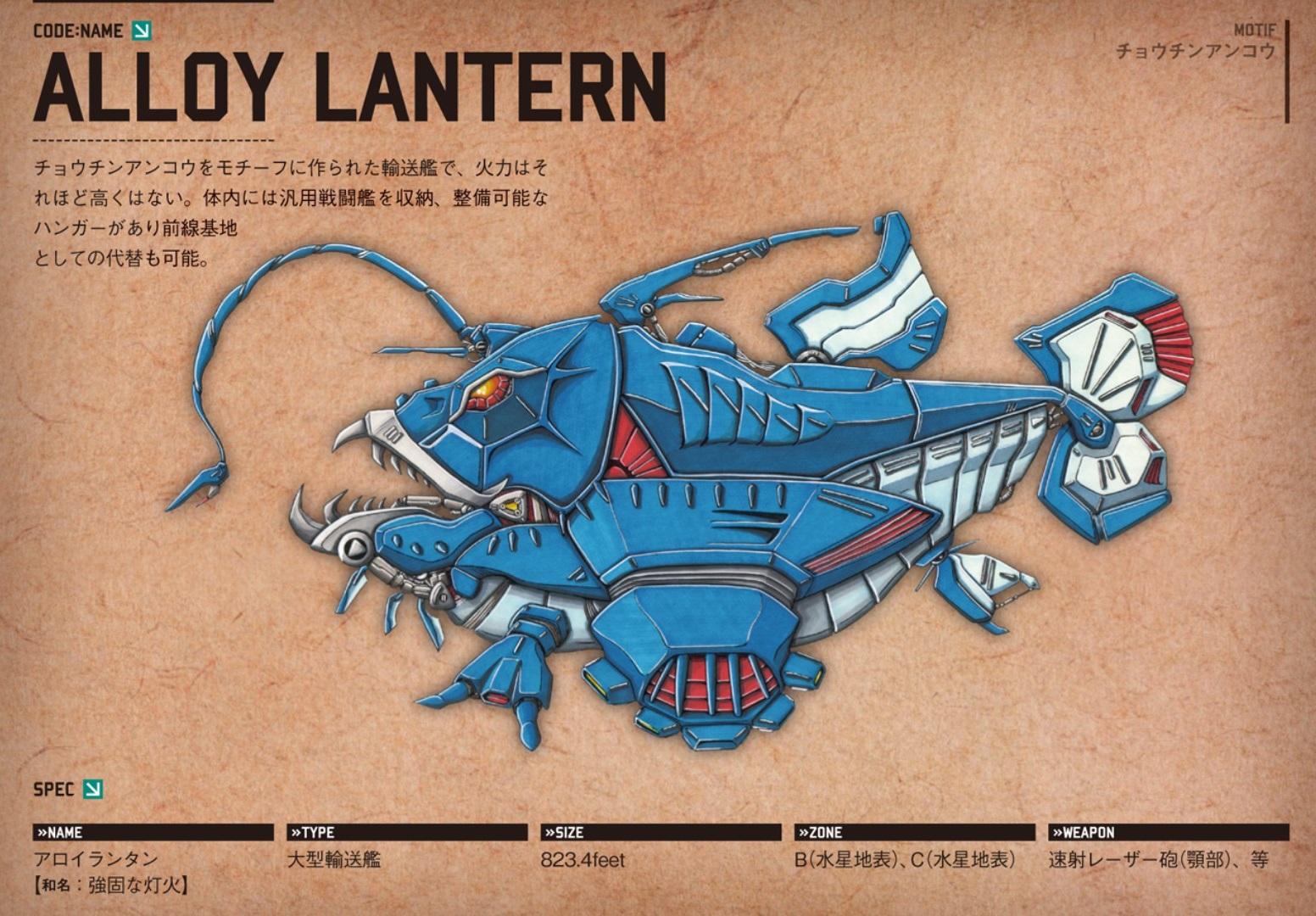Alloy Lantern