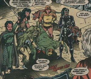 Female Furies Capture Miracle Man (DC Comics)