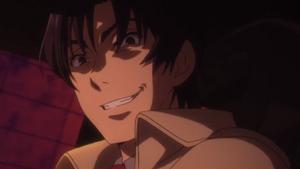 Gaku Yashiro evil grin