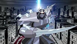 Giant Utrom Shredder