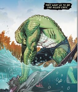 Killer Croc and Man-Bat Prime Earth 0003