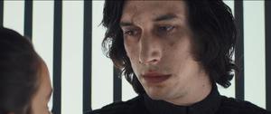 Kylo and Rey elevator scene