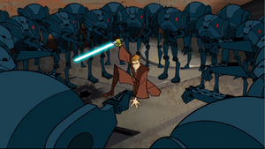 Skywalker super-battle-droids