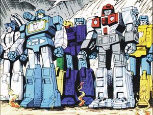 Terrorcons with Soundwave