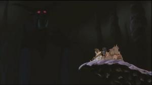 The Nightmare King speaks to Nemo