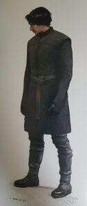 The Rise of Skywalker Kylo concept art 2