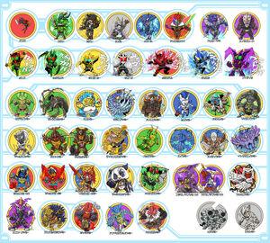 Ageha yummy ankh ankylosaurus yummy batta yummy bison yummy and others kamen rider and kamen rider ooo series drawn by kafun 189baf8f7415f152dc07c220fd4efe02