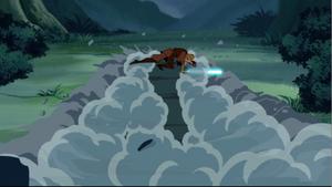 Anakin Skywalker dragged