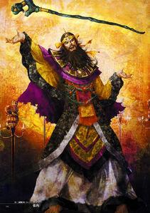 Dynasty Warriors 4 Artwork - Zhang Jiao