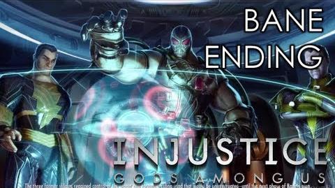 INJUSTICE GODS AMONG US - BANE ENDING (Xbox 360 PS3 Wii U HD)