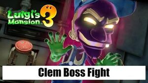 Luigi's Mansion 3 – Clem Boss Fight (Floor B2 Boilerworks)
