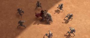 Skywalker reek droidekas