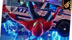 Spider-Man vs Electro - Times Square - Battle Scene The Amazing Spider-Man 2 (2014) Movie Clip 4K