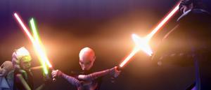 Asajj arm cross duel