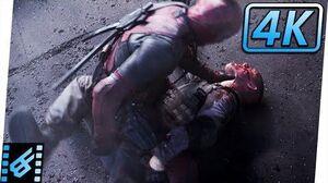 Deadpool vs Ajax Final Fight (Part 2) Deadpool (2016) Movie Clip