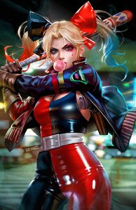 Harley Quinn 2021 Annual 1 Textless Variant