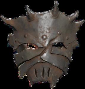 Radicals face mask - transparent