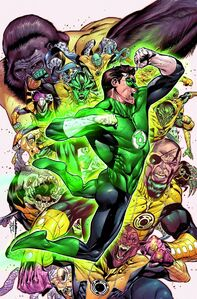 Hal Jordan and the Green Lantern Corps Vol 1 6 Textless
