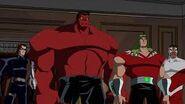 Hydra and red hulk
