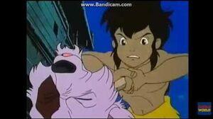 Jungle Book- Shonen Mowgli- Grizzle's death