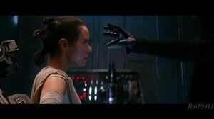 Rey and Kylo Ren's Force Connection Dyad since TFA - The Rise of Skywalker documentary