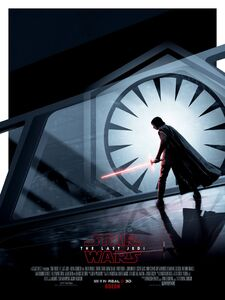 The Last Jedi Real 3D Posters 01
