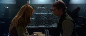 Anakin Skywalker Padmé dining