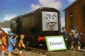 Dieselnameboard