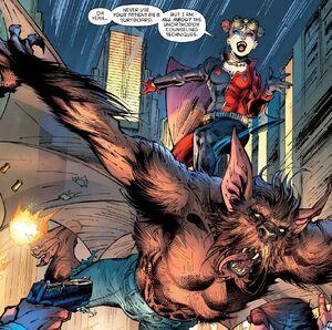 Harley Quinn and Man-Bat Prime Earth 0004