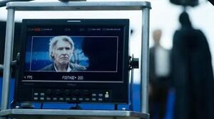 Kylo Ren's redemption BTS featuring Harrison Ford - The Rise of Skywalker documentary